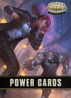 Savage Worlds Adventure Edition: Power Cards