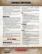 Lankhmar: SWADE Conversion
