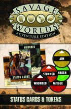 Savage Worlds Adventure Edition: VTT Status Cards & Tokens