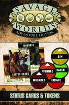 Savage Worlds Adventure Edition: VTT Status Cards & Tokens