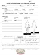 Medical Examiner Report
