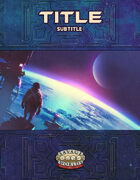 Sci-fi Cover Template