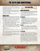 The Sixth Gun: SWADE Conversion