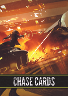 Savage Worlds Chase Cards