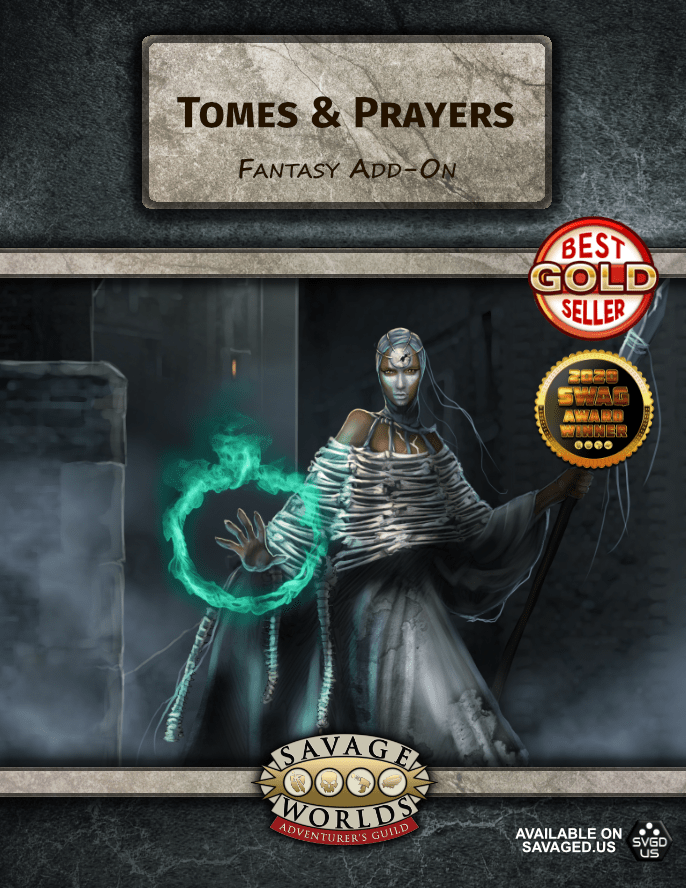 Tomes & Prayers (Fantasy Add-On)