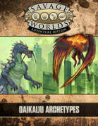 Dawn of the Daikaiju: Archetypes & Figure Flats