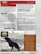 The World Creator Bird God: CROWHULHU