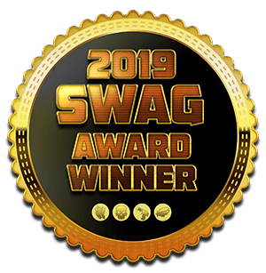 Medal for the 2019 SWAG Award
