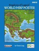 Kingdoms of Legend: World Map Poster