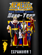 NEMESIS MODERN MYTHOLOGY THE CARD GAME:  Hero Temp