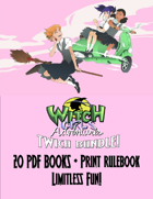 Witch Girls Twitch Bundle with Printed Rulebook [BUNDLE]