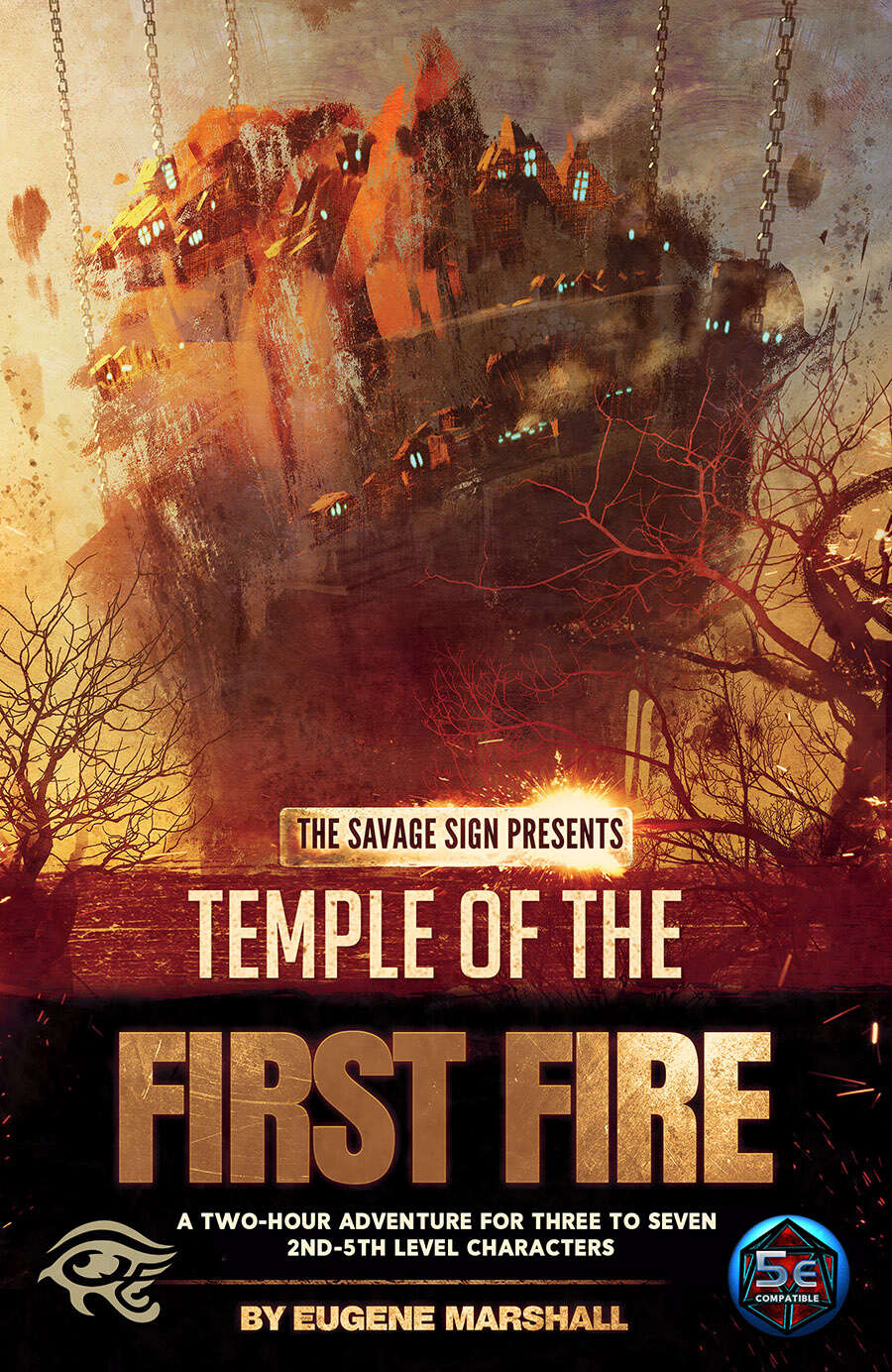 Cover of Temple of the First Fire