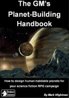 The GM's Planet-Building Handbook