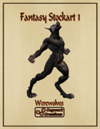 Fantasy Stockart 1: Werewolves