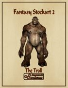 Fantasy Stockart 2: The Troll