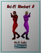 Sci-Fi Stockart 2: Sci-Fi Ladies