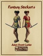Fantasy Stockart 6: Asian Sword Ladies