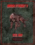 Horror Stockart 9: Devil Dogs