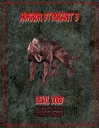 Horror Stockart 9: Devil Dogs