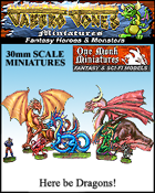 Jabbro Jones Miniatures: Here be Dragons!