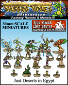 Jabbro Jones Miniatures: Fantasy Monsters: Just Deserts in Egypt