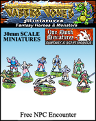 Jabbro Jones Miniatures: Fantasy NPCs: Free Fantasy NPC Encounter