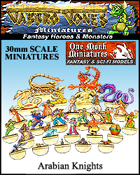 Jabbro Jones Miniatures: Fantasy Monsters: Arabian Knights