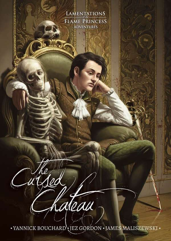 Cover of The Cursed Chateau