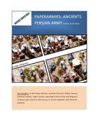 Paperarmies-ancients Persians