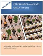 Paperarmies - Ancients Greek Hoplites