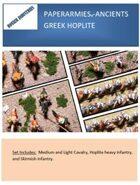 Paperarmies - Ancients Greek Hoplites
