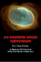 The Ephemeris Species Compendium