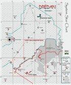 Dredan System Star Chart - Textured
