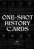 One-shot history cards (Horror)