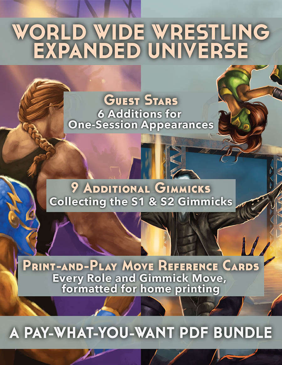 The World Wide Wrestling Roleplaying Game: Expanded Universe