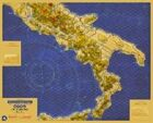 "Frontline General: Italian Campaign Introduction Southern Italy Map 60""x50"" 150 dpi"