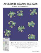 Adventure Islands Hexmaps