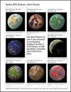 Alien Planets (sample)