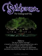 Subterra: The Underground City (sample)