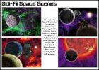 Alien Sci-Fi Space Scenes