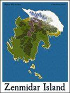 Zenmidar Island Adventure Map (Sample)