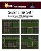 Sewer Map Set 1