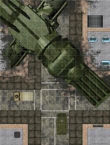 Battlemaps City Streets Alien Ship Crash Site Wydraz