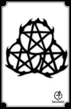 Bree Orlock Designs: Thorned Pentacles 2
