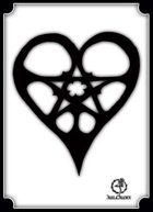 Bree Orlock Designs: Pentacle Heart