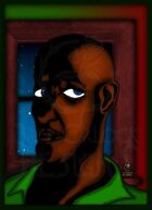 Bree Orlock Designs: Black Man in Window