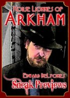 Arkham: City of Secrets - House Lionnes: Edward DeLyones