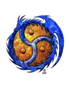 Bree Orlock Designs: Blue Coyfish and Dragon