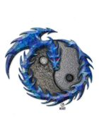 Bree Orlock Designs: Coiled Dragon Yin Yang