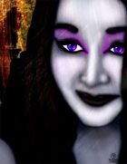 Bree Orlock Designs: Gothic Womans Face